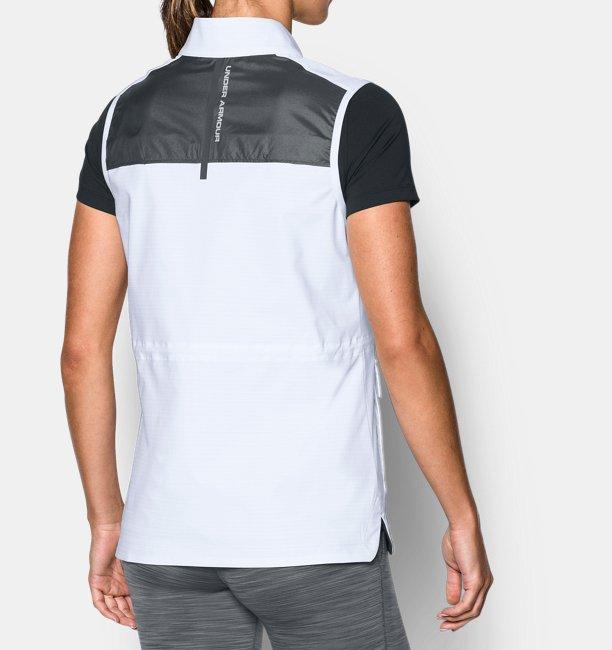 veste sans manches coupe vent ua windbreaker pour femme under armour fr. Black Bedroom Furniture Sets. Home Design Ideas