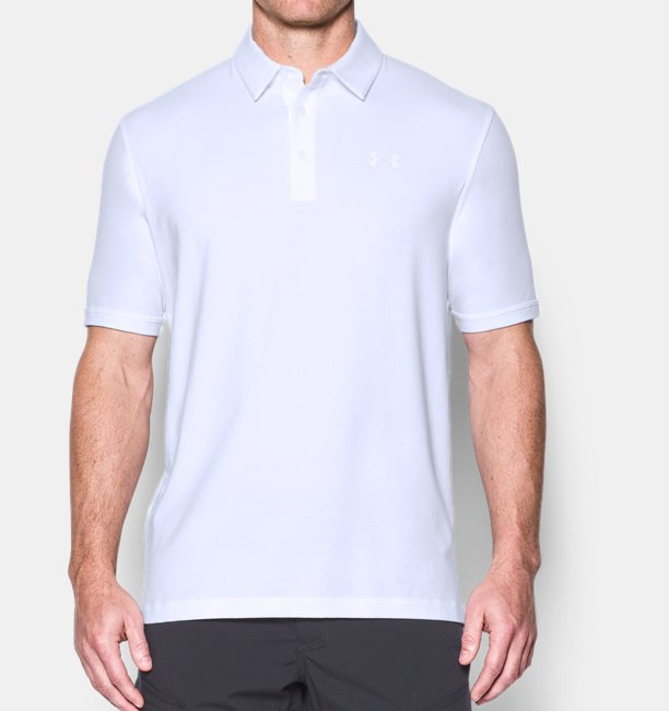 Mens UA Tactical Charged Cotton® Polo