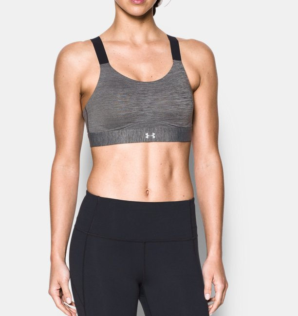 Women's Armour® Eclipse High Heathered Sports Bra