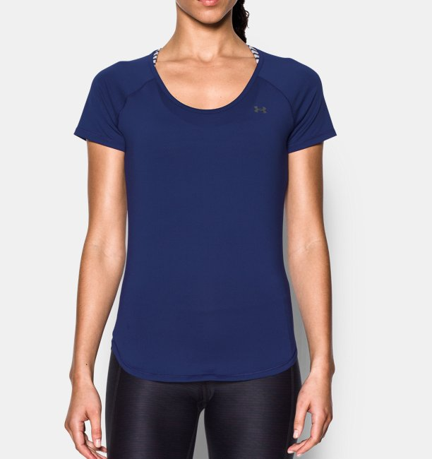 Womens UA CoolSwitch Short Sleeve Shirt