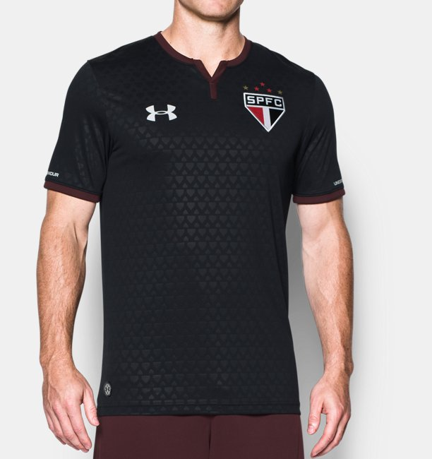 23b60a99c49 Camisa SPFC Oficial 17 18 Masculina