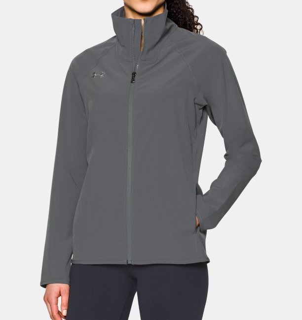 Women's UA Squad Woven Full Zip Jacket