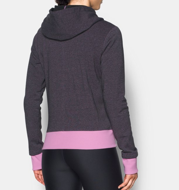 Womens UA Threadborne™ Fleece Graphic Hoodie