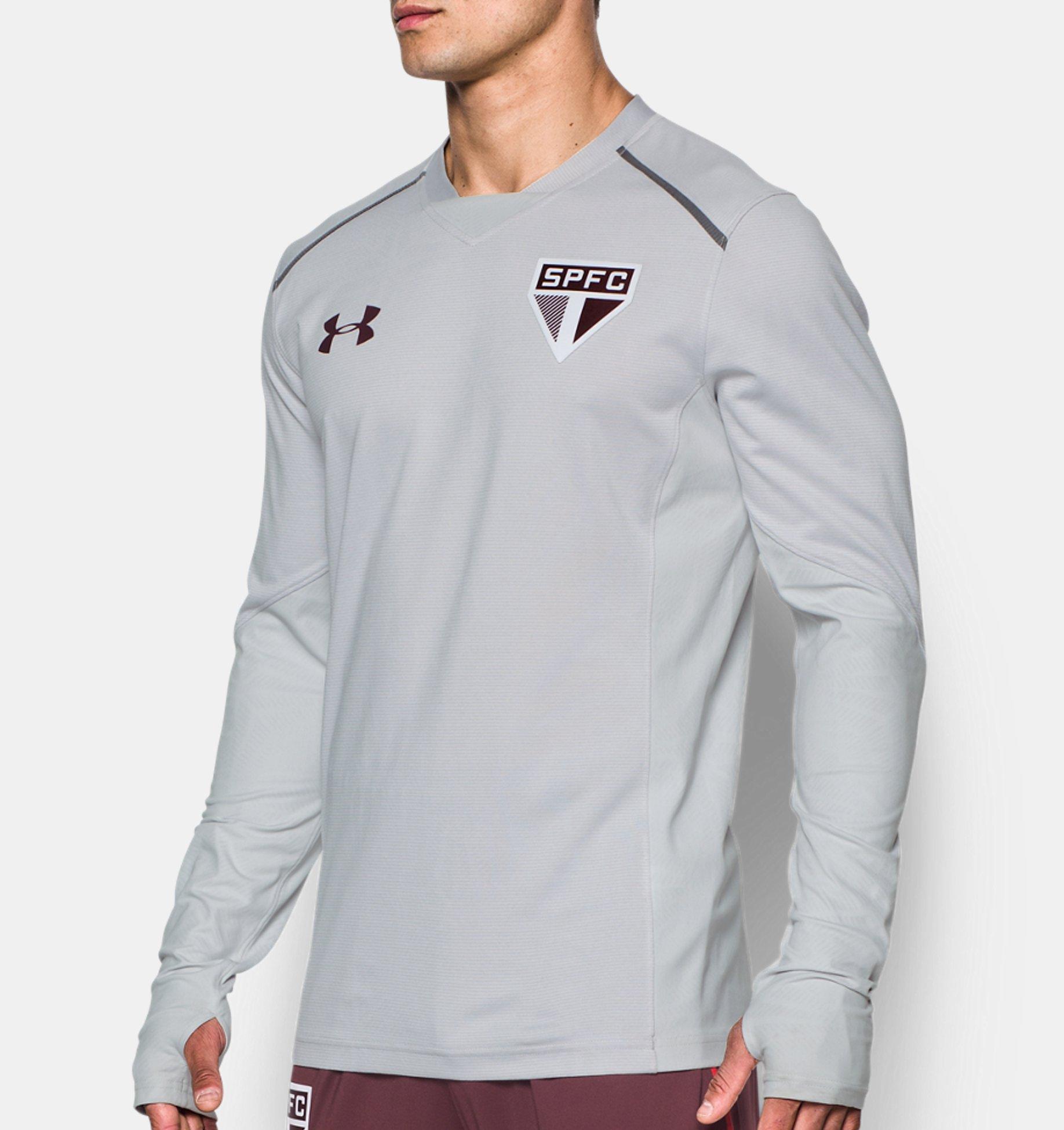 66b8d24eeb ... Camisa Manga Longa Treino São Paulo - Masculina ...