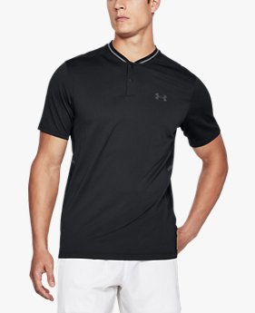 Under Armour - Forge Hommes Tennis Polo (blanc/gris) - S 2ceHTejwQ5