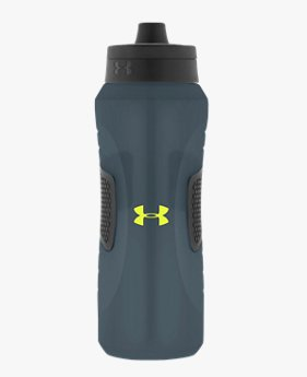 Undeniable 1 Litre. Squeezable Water Bottle with Quick Shot Lid
