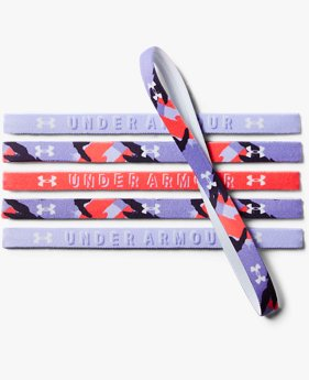 Girls' UA Graphic Headbands - 6 Pack