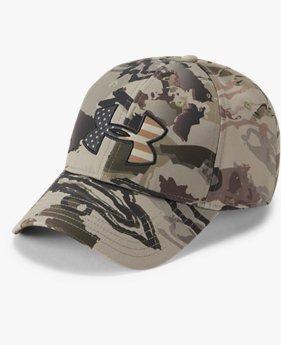 UAカモ ビッグフラグ ロゴ キャップ(アウトドア/MEN)