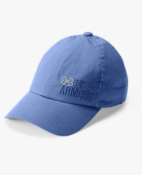 Kız Çocuk UA Graphic Armour Şapka