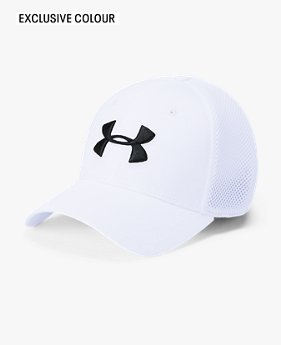 Men's UA Microthread Golf Mesh Cap