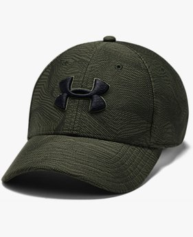 Erkek UA Baskılı Blitzing 3.0 Streç Şapka
