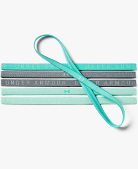 Women's UA Heathered Mini Headbands - 6 Pack
