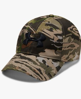 Men's UA Camo Stretch Fit Cap Updated