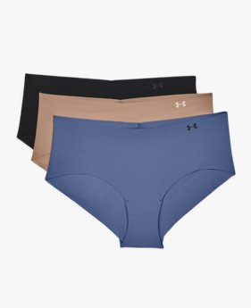 Women's UA Pure Stretch Hipster Underwear 3-Pack