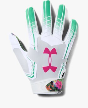 Youth UA F6 LE Football Gloves