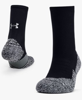 UA Run Cushion Crew Socken