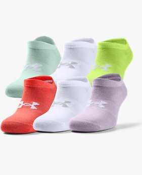 Women's UA Essentials No Show – 6-Pack