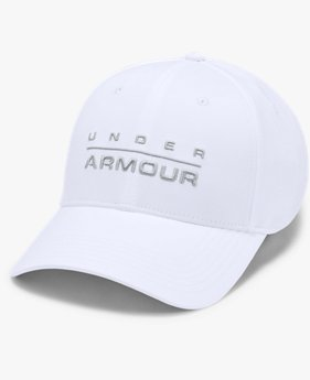 Men's UA Wordmark Stretch Fit Cap