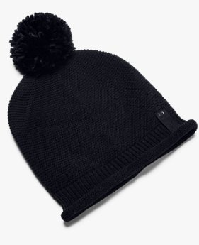 Women's UA Roll Out Pom Beanie