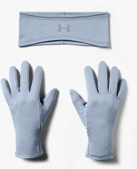 Women's UA Run Band & Glove Pack