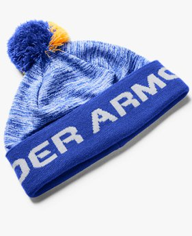 Boys' UA Game Time Pom Beanie