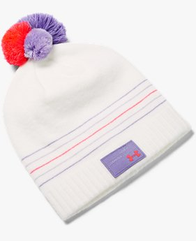 Bonnet UA Triple Scoop pour fille