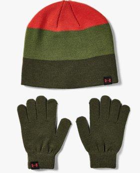 Set UA Beanie Glove Combo da ragazzo
