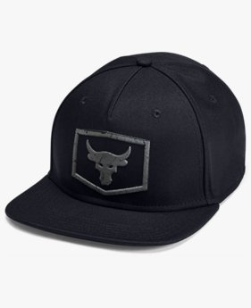 Project Rock Strength Flat Brim Cap