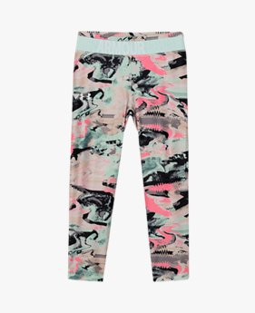 Girls' HeatGear® Armour Printed Crop