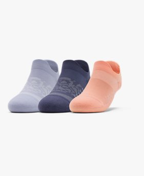 Women's UA Breathe No Show Tab – 3-Pack Socks