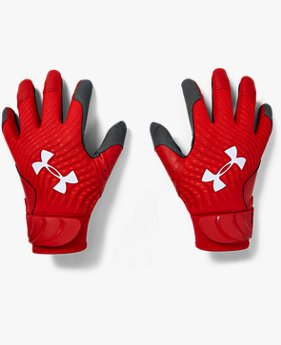 Youth UA Harper Hustle Batting Gloves