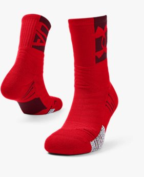 Adult UA Playmaker Crew Socks