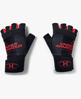 Men's UA Graphic Weightlifting Gloves