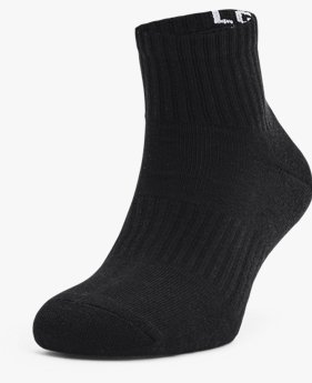 Unisex UA Core Quarter 3-Pack Socks