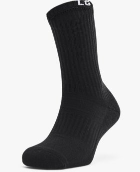 Unisex UA Core Crew 3-Pack Socks