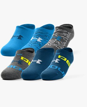 Boys' UA Essentials No Show Socks
