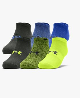 Men's UA Essentials No Show Socks – 6-Pack