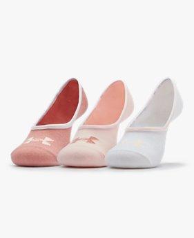 Unisex sokken UA Essential LOLO Liner – 3 paar