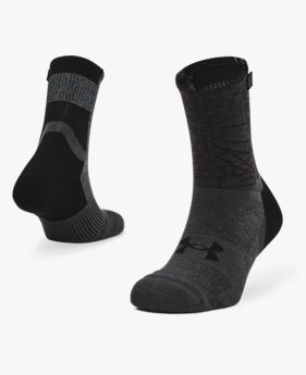Unisex UA Armour Dry™ Run Crew Socken