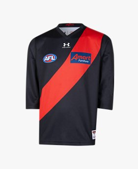 Men's Essendon FC 2020 Replica Home Guernsey ¾ Sleeve