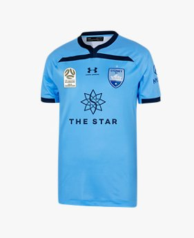 Men's Sydney FC Home Champions 2019/20 Replica Jersey