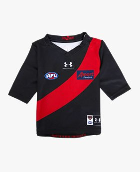 Toddler Essendon FC 2020 Replica Home Guernsey ¾ Sleeve