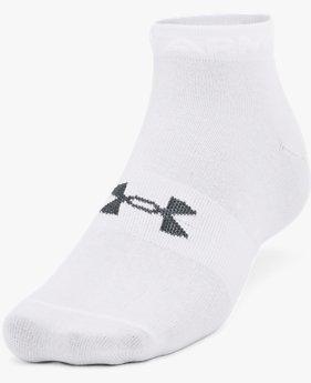 Unisex UA Essential Low Cut Socks 3-Pack