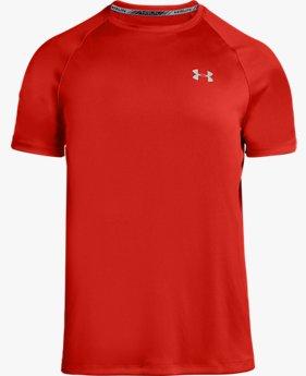 Kaus Lengan Pendek HeatGear® Run untuk Pria