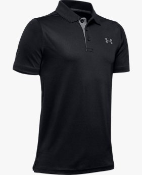Playera Polo UA Match Play para Niño