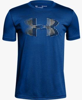 Camiseta Infantil Boys' UA Tech™ Big Logo Solid