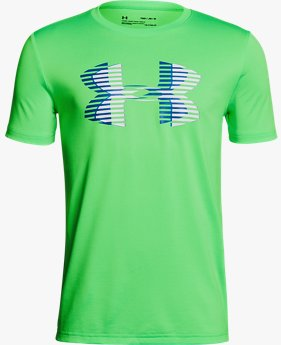 Camiseta Infantil Boys' UA Tech™ Big Logo Solid