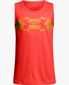 Camiseta regata UA Tech™ infantil masculina