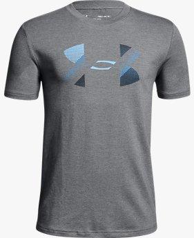 Camiseta UA Big Logo Infantil Masculino