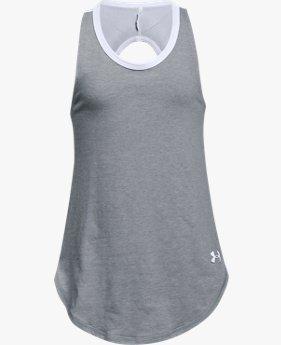 Camiseta UA Finale infantil feminina
